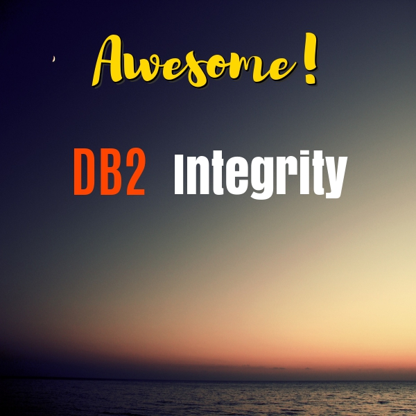DB2 Integrity