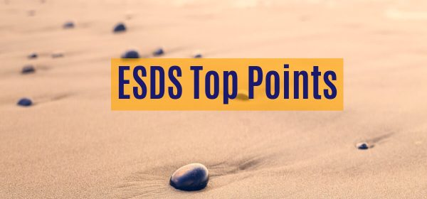 ESDS Top Points