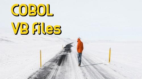 COBOL VB files