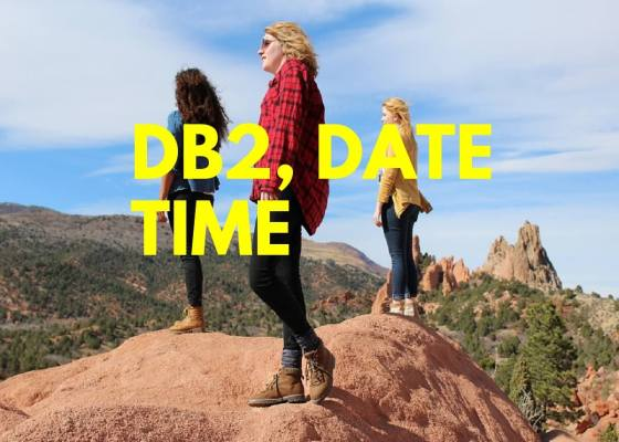DB2, Date, Time