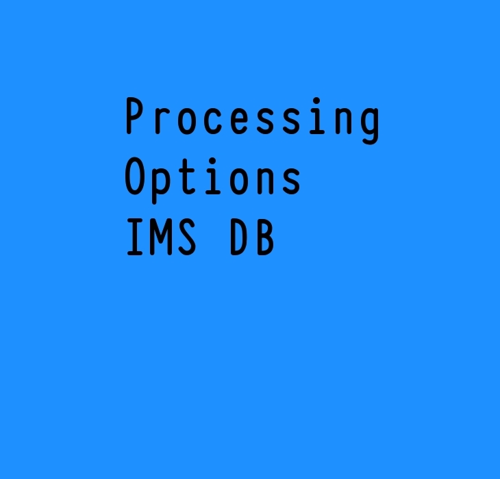IMS DB Proc options
