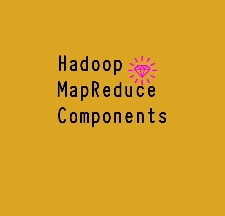 Hadoop mapreduce Components