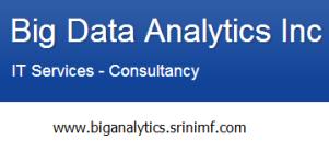 Big Analytics