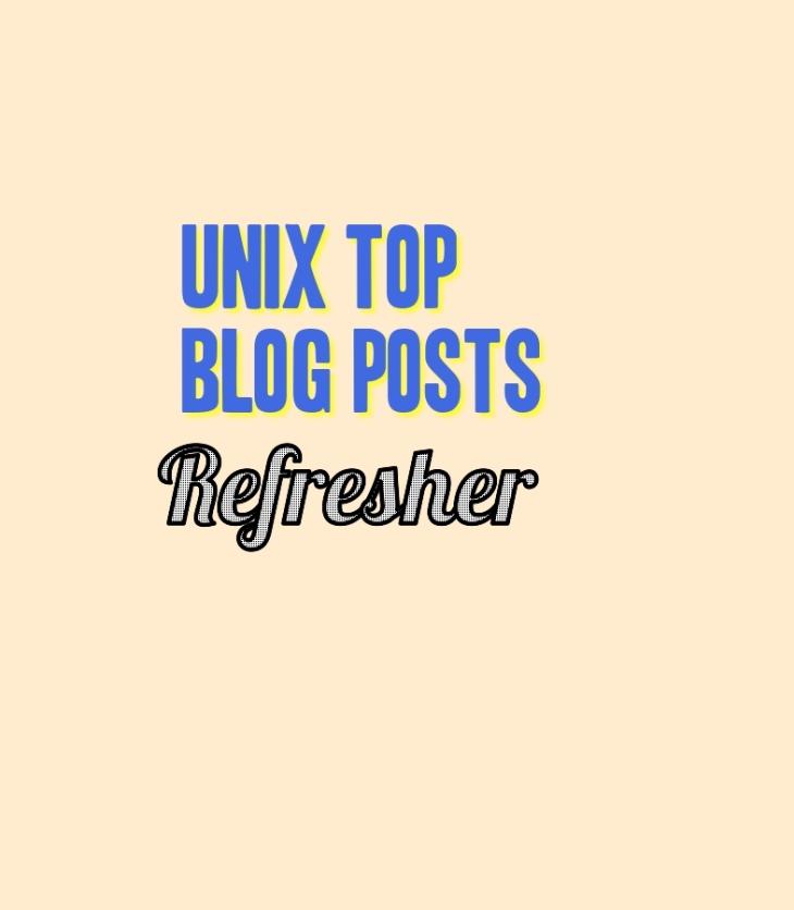 UNIX Top Blog Posts