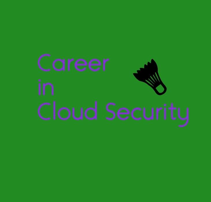 Career in Cloud Security