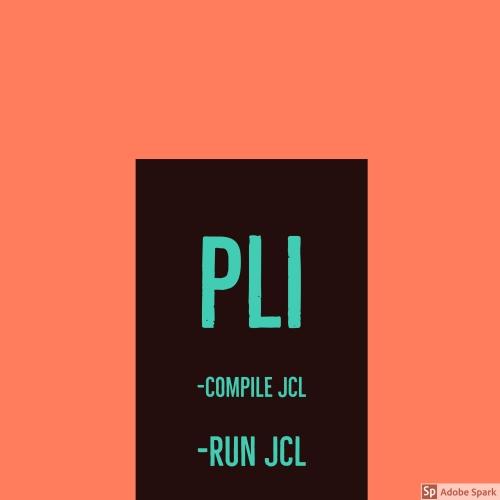 PLI JCL