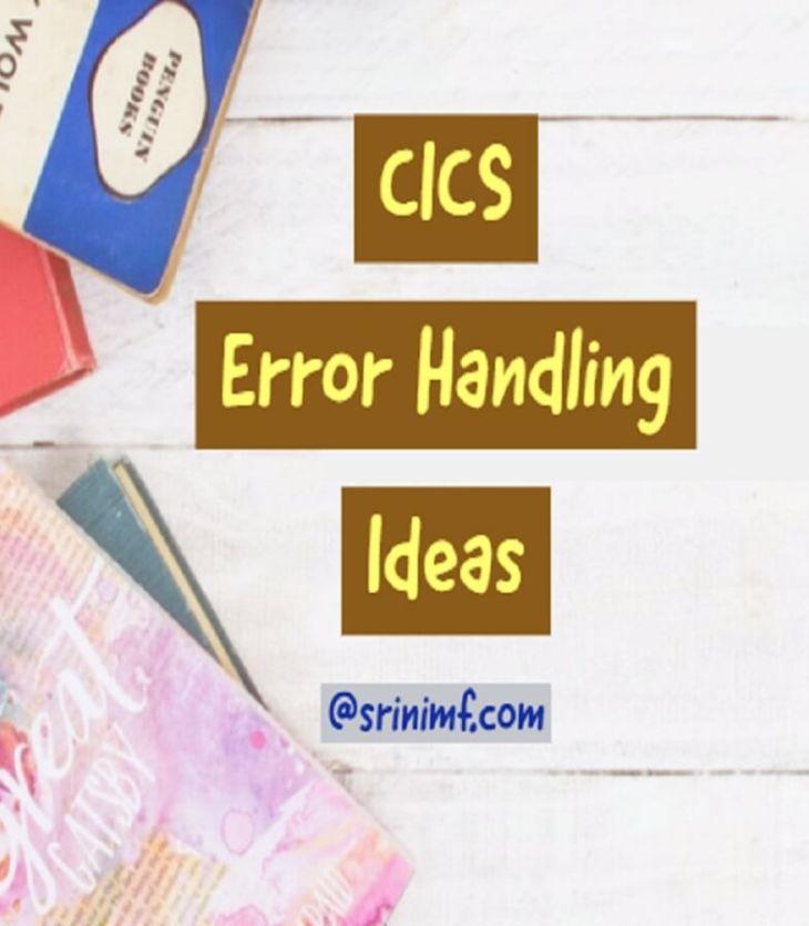 cics errors