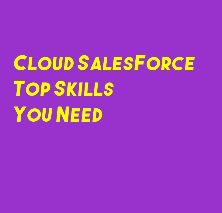 Cloud Salesforce Skills You Need