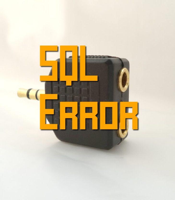 sql error code -180 resolution