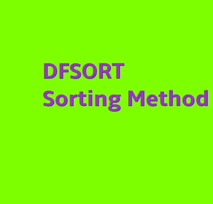 DFSORT Sorting Method