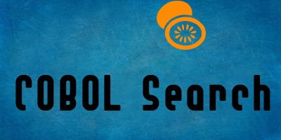 Search in COBOL