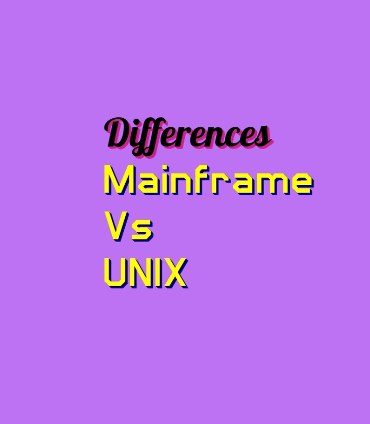 Mainframe Vs Unix