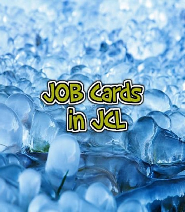 JOB cards in JCL