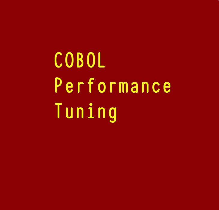 COBOL Optimization Ideas