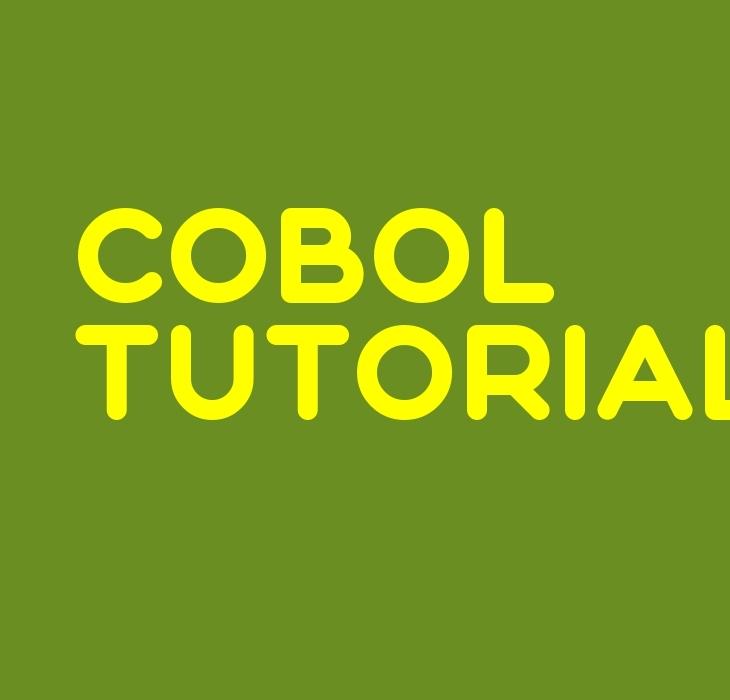 COBOL Tutorial