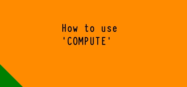 How to use Compute