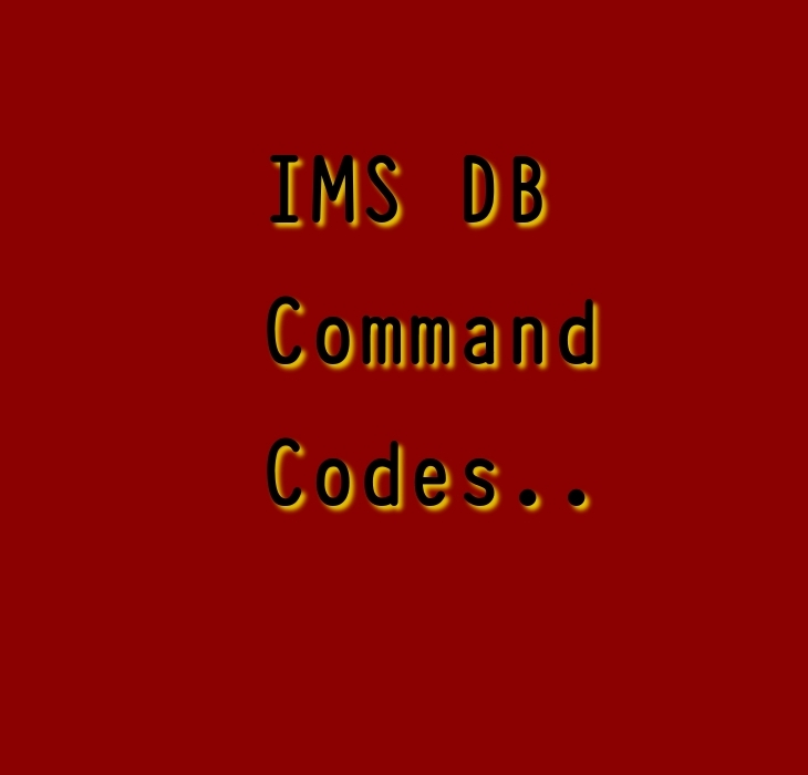IMS DB command codes