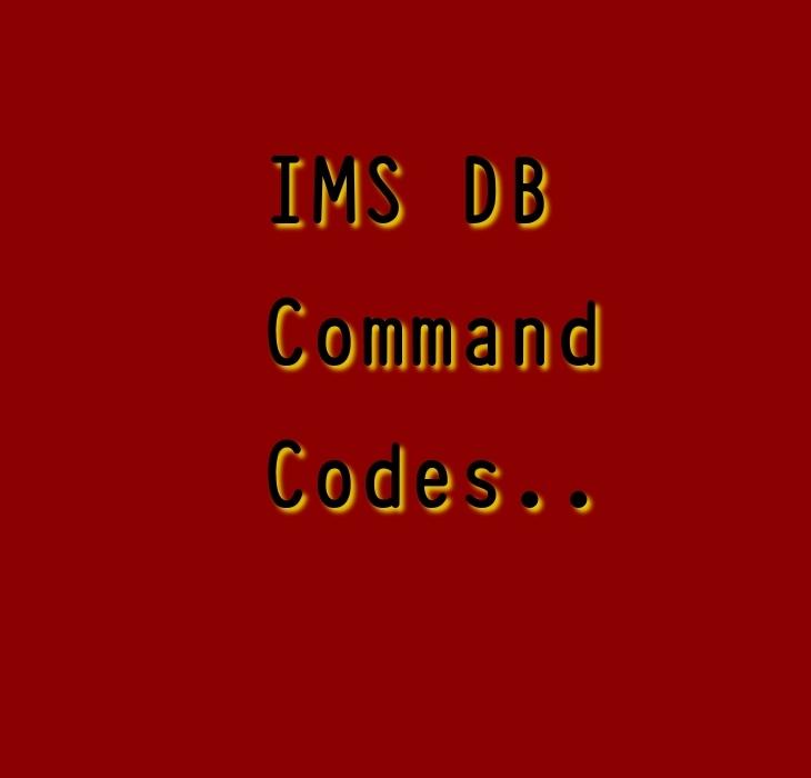 IMS DB command codes