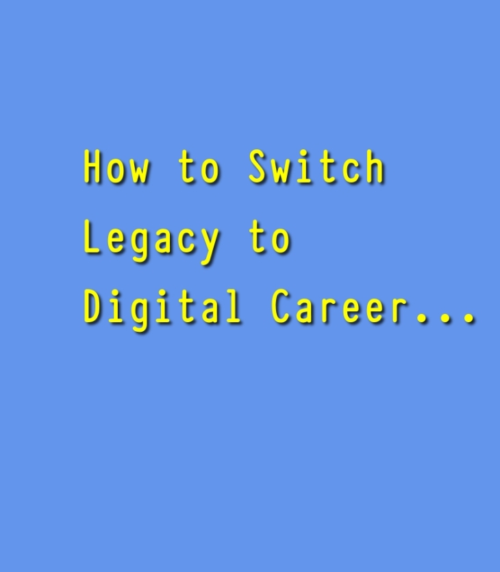 Career switch to Digital top ideas