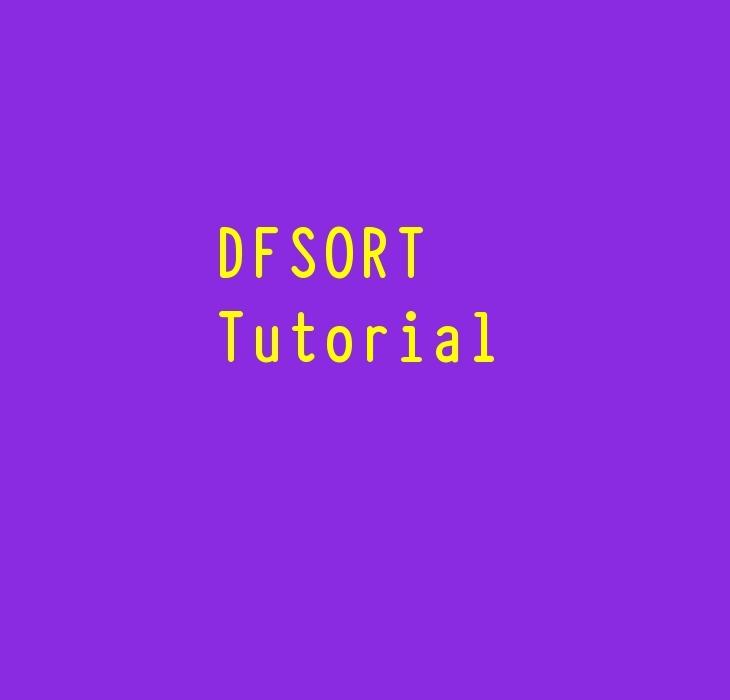 DFSORT Tutorial