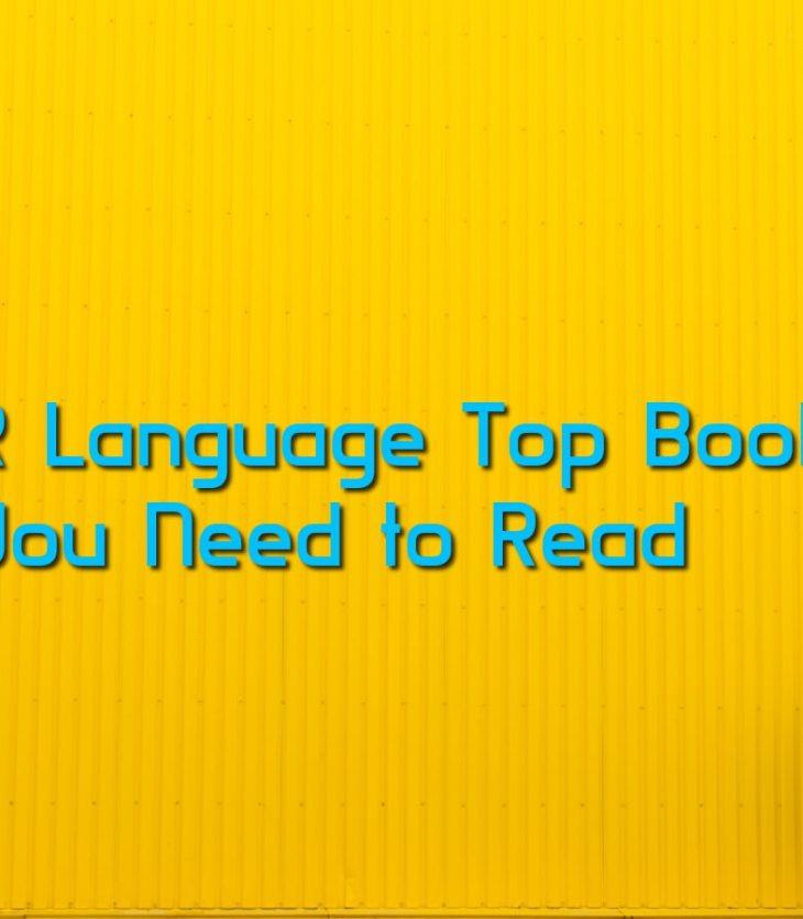 Best books on R Language