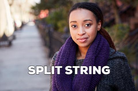 Split string in SQL