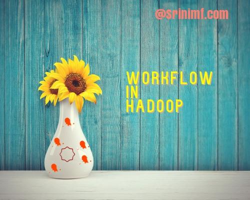 Workflow in Hadoop
