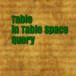 Table Space