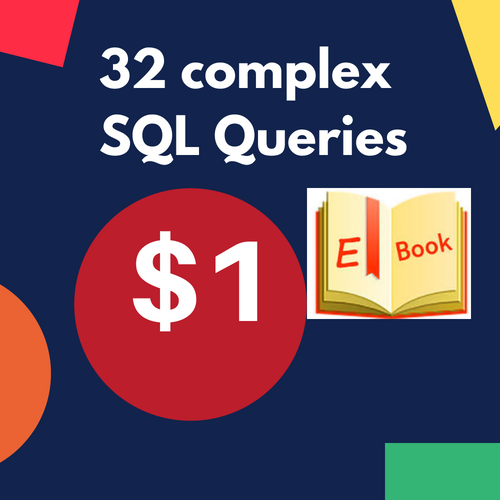 32 complex SQL Queries