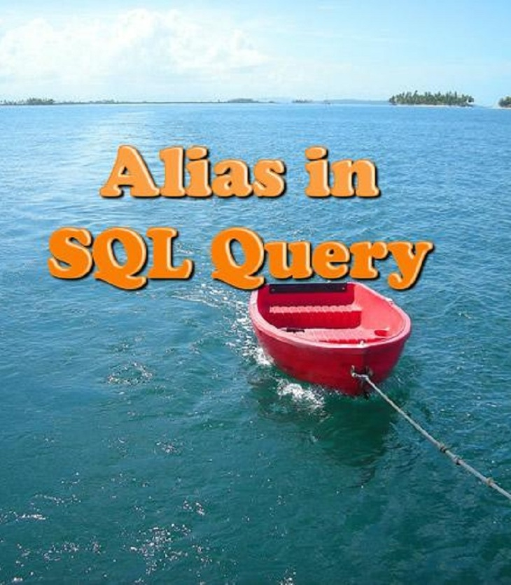 Alias in SQL query