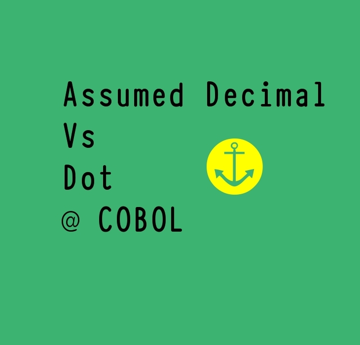 Assumed Decimal Vs Dot