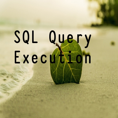 SQL query order of execution