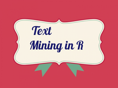 Text mining in R