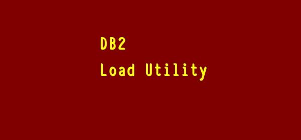 DB2 Load Utility