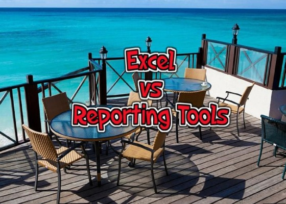 Excel vs Reporting tools
