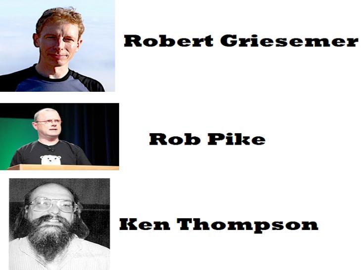 Golanaguge authors