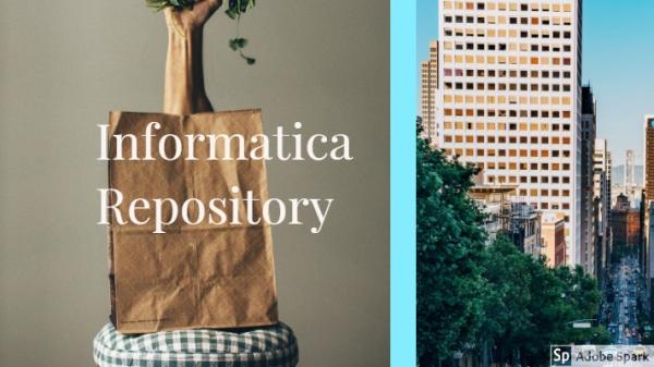 informatica repository