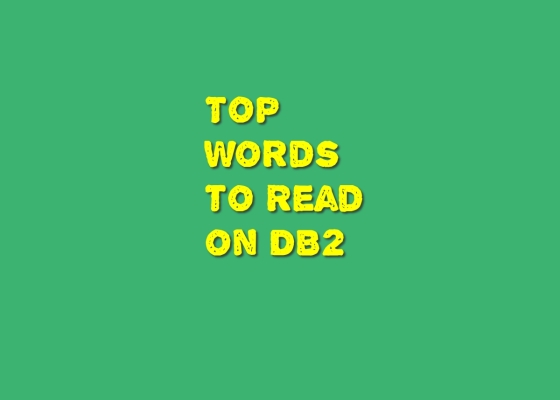 DB2 key words
