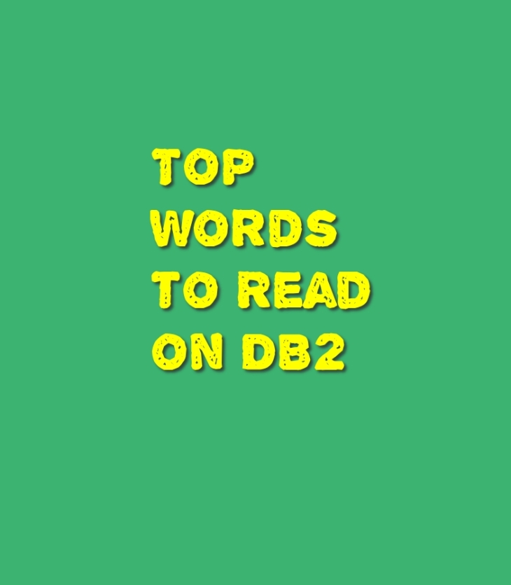 DB2 key words