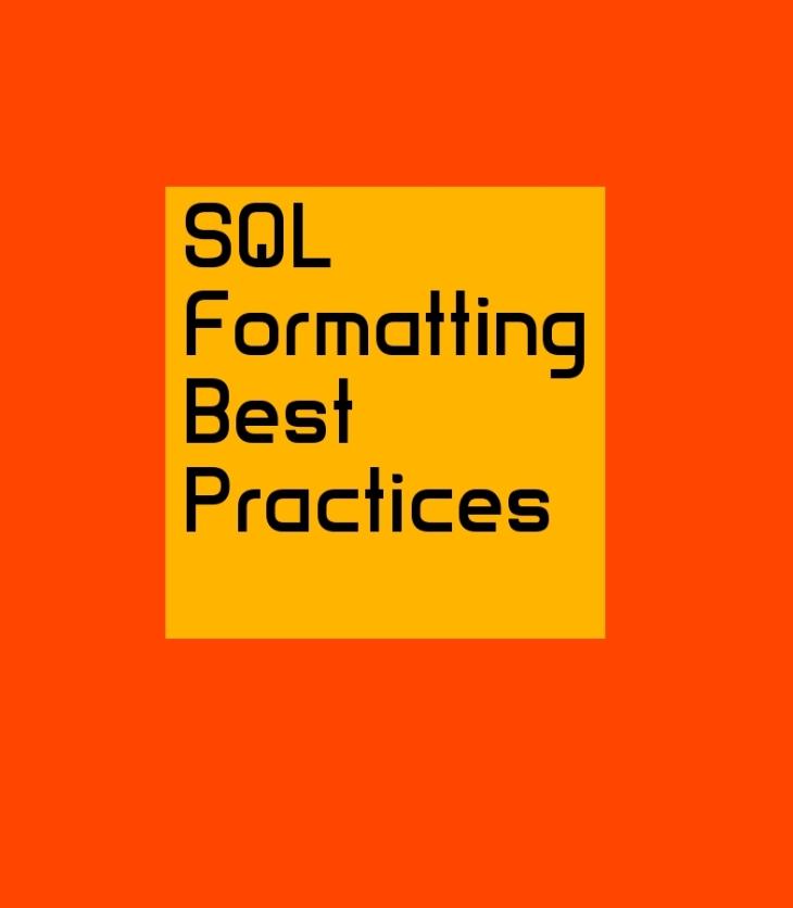 SQL Formatting