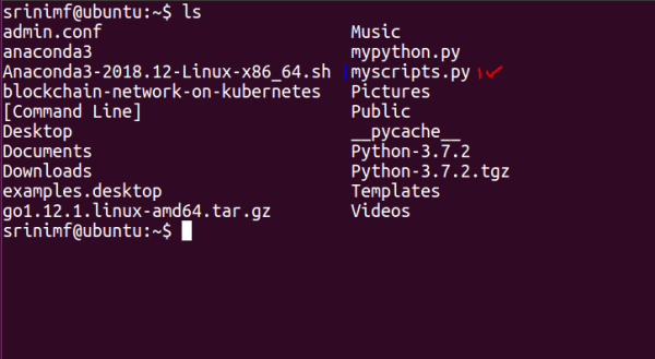Python script with .py