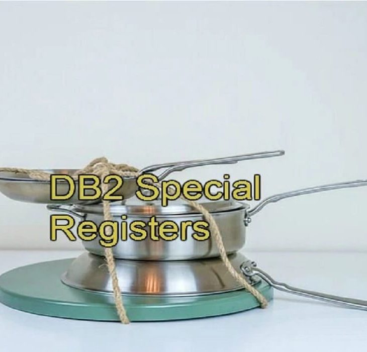 DB2 Special Registers
