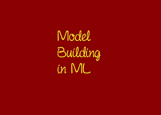 Flowchart to Build Model in ML