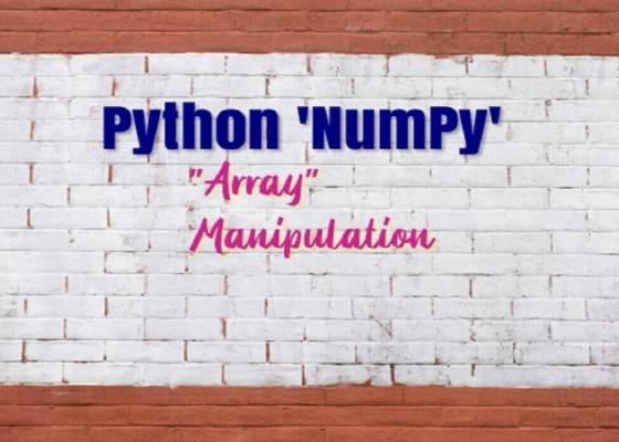 Arrays in Python