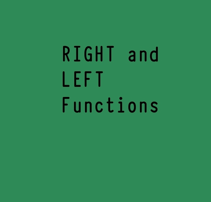 Right and Left functions