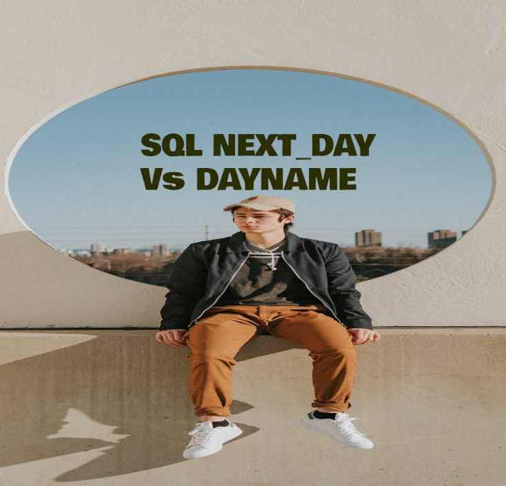 SQL NEXT_DAY Vs DAYNAME