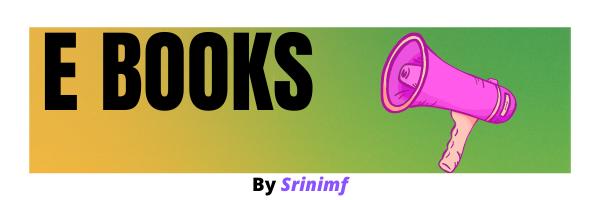 ebooks by srinimf
